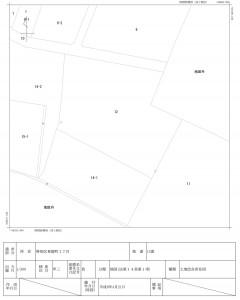 法務局の地図